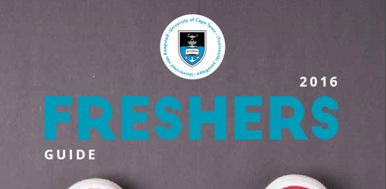 UCT freshers' guide cover